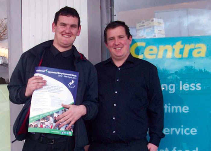 Job Shadow – Dean MacKeever with Centra Glenageary Owner Ian Coughlin